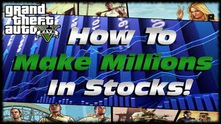 GTA 5 How to Use Lester To Make Hundreds Of Millions Of Dollars In The Stock Market! GTA V Tutorial!