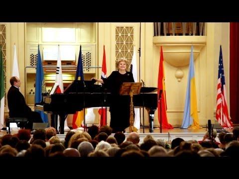 Elena Obraztsova (mezzo-soprano, Russia). CACCINI -