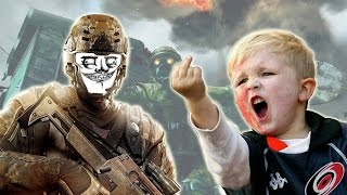 A VERY ANGRY KID Messed with on Black Ops 2 Zombies (Xbox Live Trolling)