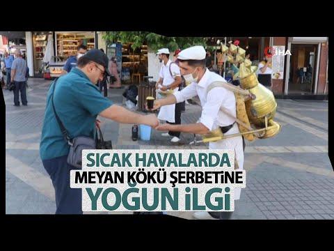 Kavurucu Sıcakların Vazgeçilmezi Meyan Şerbeti