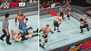 WWE 2K19 - Can Brock Lesnar Kickout of 10 Spears?