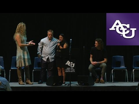 ACU Chapel with Hope Martin & Ethan Chase Etter