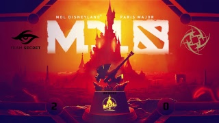 Secret vs NiP | Mars Dota 2 League Disneyland® Paris Major EU Closed Qualifier