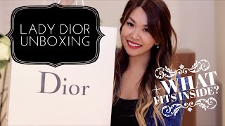 Lady Dior Unboxing 2016 | + What fits inside