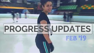 Figure Skating Progress Updates!   First Training Session of 2019!