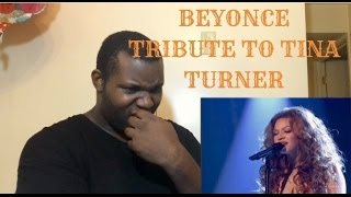 Beyonce- Proud Mary (Tribute to Tina Turner 2005) Reaction