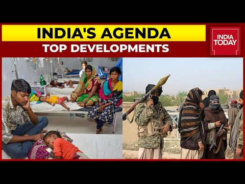 China, Pakistan Back Taliban Government In Afghanistan; Mystery Fever Grips Bihar | India's Agenda