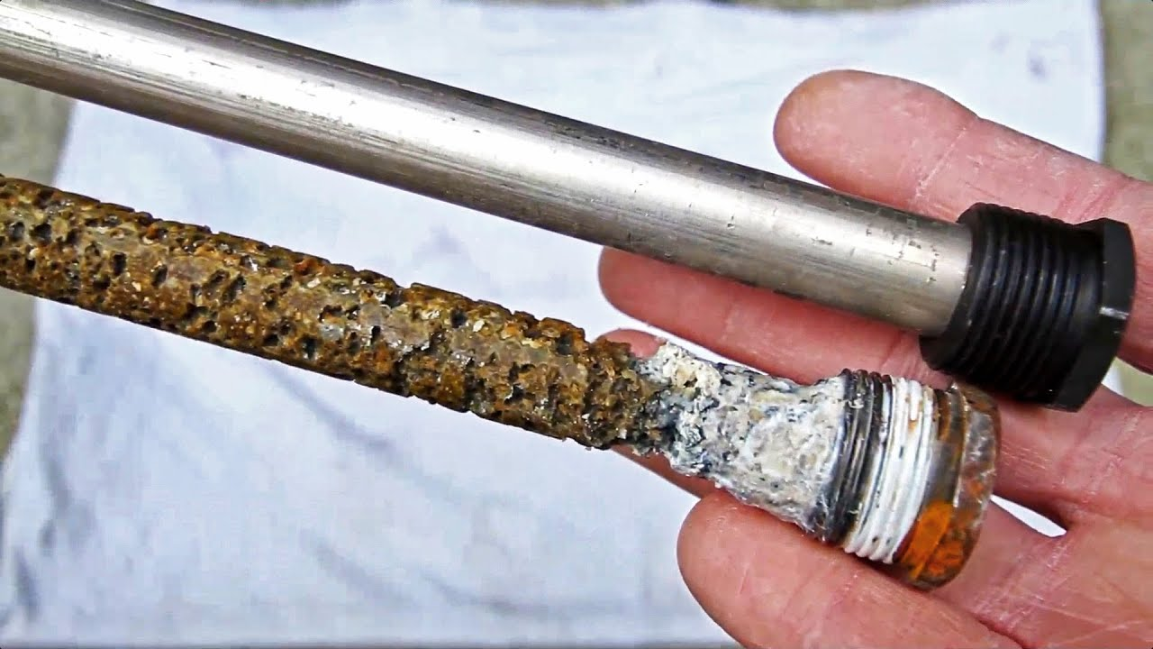 UPDATE! RV Water Heater Anode Rods - YouTube