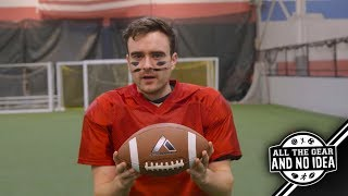 """""""SOCCER"""" PLAYER TRIES AMERICAN FOOTBALL!!! All The Gear And No Idea Episode 3"""