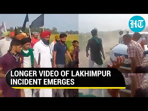 Longer video of Lakhimpur incident shows SUV hitting unarmed farmers in greater speed