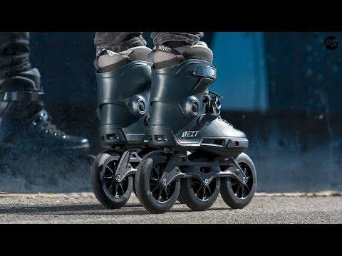 Video POWERSLIDE Roller freeskate NEXT CORE Black 110 Noir