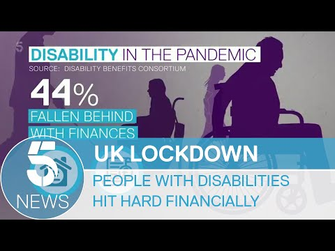Coronavirus; Benefits leave many disabled people struggling during pandemic | 5 News