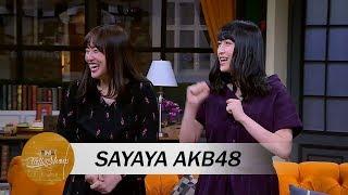 Haruka Bawa Sayaya AKB48 ke Ini Talk Show