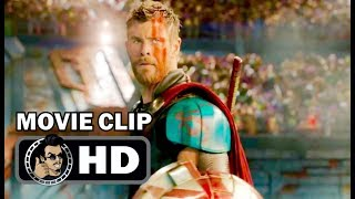 THOR: RAGNAROK Movie Clip - Hulk Fights Thor (2017) Chris Hemsworth Marvel Superhero Movie HD