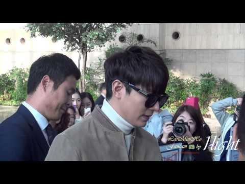 Lee Min Ho 20141030 Gimpo Airport 중국 출국