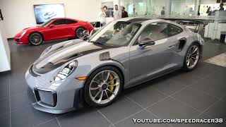 Ian Poulter's Nardo Grey GT2 RS delivery