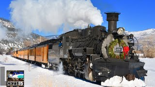 Steam Trains and Snow! Durango and Silverton
