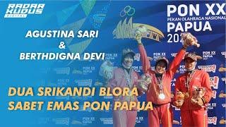 WOW!!! Dua Atlet Panjat Tebing Asal Blora Sabet Medali Emas di PON Papua