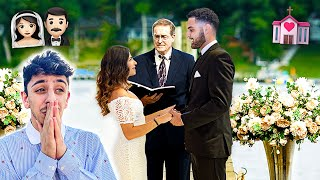SHE REALLY GOT MARRIED!! **emotional wedding**