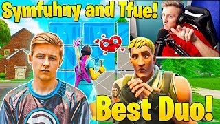 Everyone SHOCKED when Tfue and Symfuhny WIN Pro Scrims Easily! (The Dream Duo!)