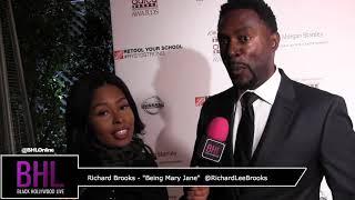 "Richard Brooks Talks ""Being Mary Jane"" Comeback"