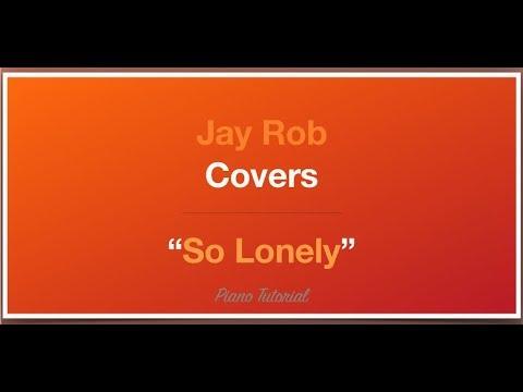 So Lonely Jorja Smith Piano Tutorial
