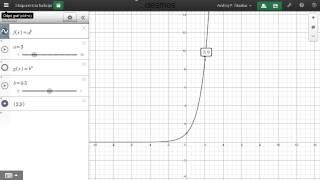 Naloga 2 – eksponentna funkcija