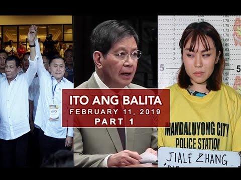 UNTV: Ito Ang Balita (February 11, 2019) PART 1