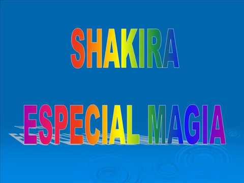 ESPECIAL MUSICAL CON SHAKIRA MEBARACK: ALBUM COMPLETO