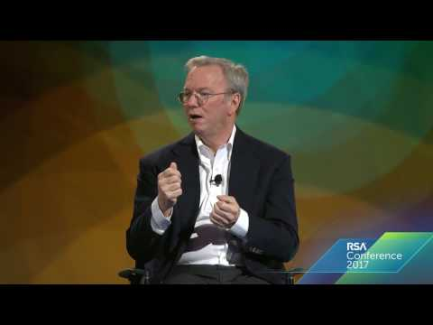 Eric Schmidt | Security is a Lifestyle | RSAC 2017