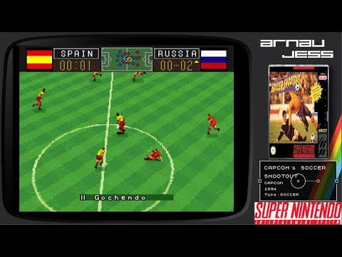 CAPCOM´s SOCCER SHOOTOUT (España vs Russia) Super Nintendo