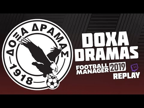 Football Manager 2019 / Twitch Replay #21 - Off too a Season 4 flyer!
