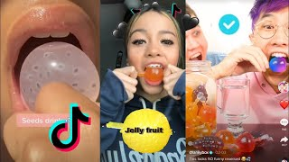 FOOD MUKBANG ASMR JELLY Fruit compilation ASMR