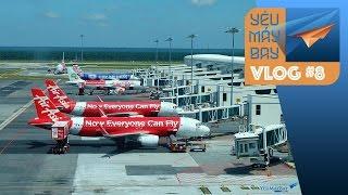 VLOG #8: AirAsia tăng cường bay Hà Nội, Đà Nẵng   Yêu Máy Bay