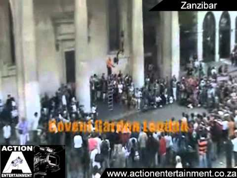 Zanzibar,The Crazy Frenchman - Action Entertainment - Artist Demo 2011