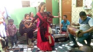 Pratap vidhya Peeth   boys dance in kinner role on