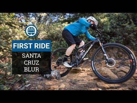 Santa Cruz Blur First Ride - All New XC Race Rig