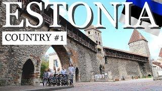 ESTONIA COUNTRY#1/VLOGSpider Attack.