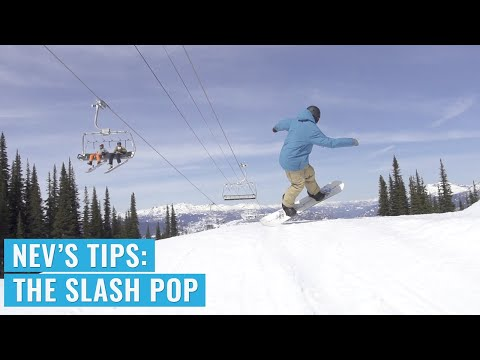 Tips With Nev: The Slash Pop