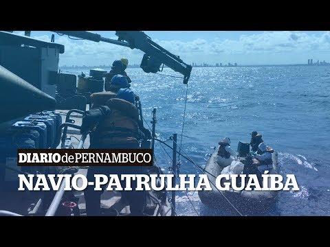 Veja como a Marinha tem feito buscas por óleo no mar