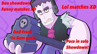 Solo Poco, Gem Grab Troll With Frank, And Funny Duos Wins! Ft. Blaze Draconic YT.