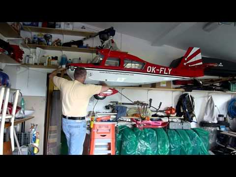 How to store 50 kg R/C Model?