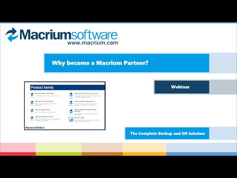 Why partner with Macrium?