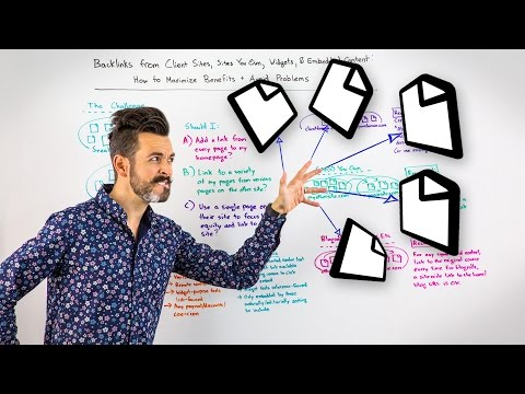Backlinks from Client Sites, Sites You Own, Widgets, & Embedded Content - Whiteboard Friday