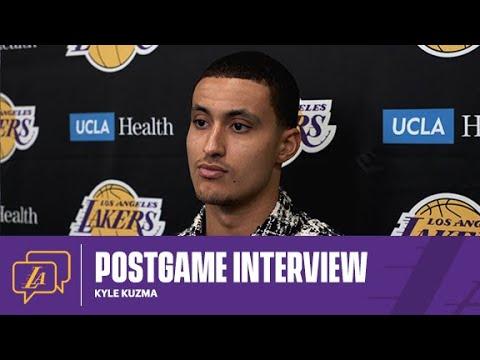 Lakers Postgame: Kyle Kuzma (5/12/21)