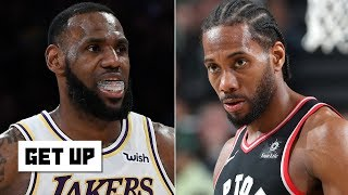 Kawhi doesn't want to create a superteam with LeBron and AD on the Lakers - Jalen Rose | Get Up