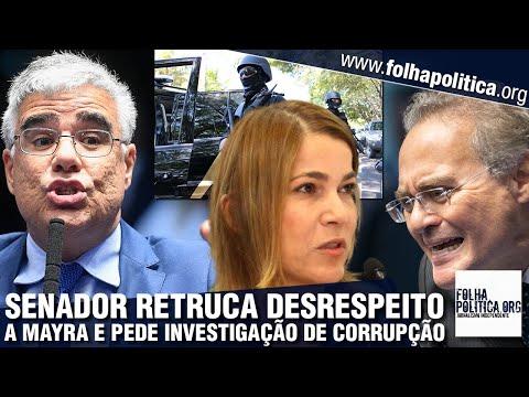 Senador escancara como credibilidade de CPI está 'derretendo' e retruca desrespeito a Mayra...