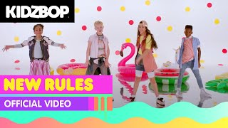 KIDZ BOP Kids - New Rules (Official Music Video) [KIDZ BOP Summer '18] - YouTube