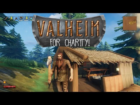 six straight hours of VALHEIM (for Texas Disaster Relief)