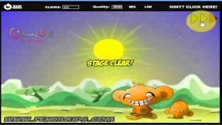 Hướng dẫn chơi game Chú khỉ buồn - Monkey go happy 2